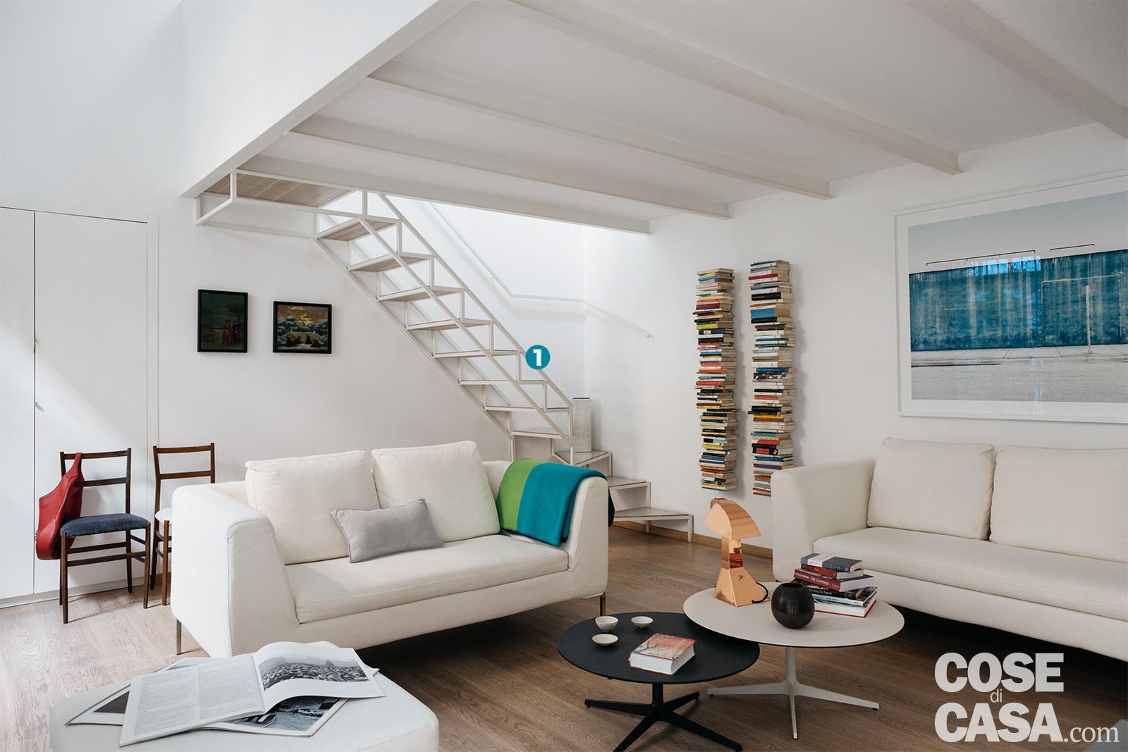 Da Luce Alla Soffitta casa di 63 mq aumenta a 90 mq: sfruttare l'altezza col