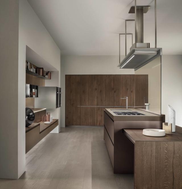 ernestomeda_ICON_COLOR_93 cucina con piano effetto pietra-stone