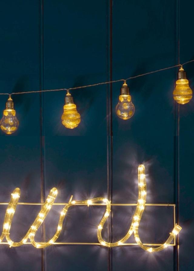 luci di Natale euronova  a catena luminosa