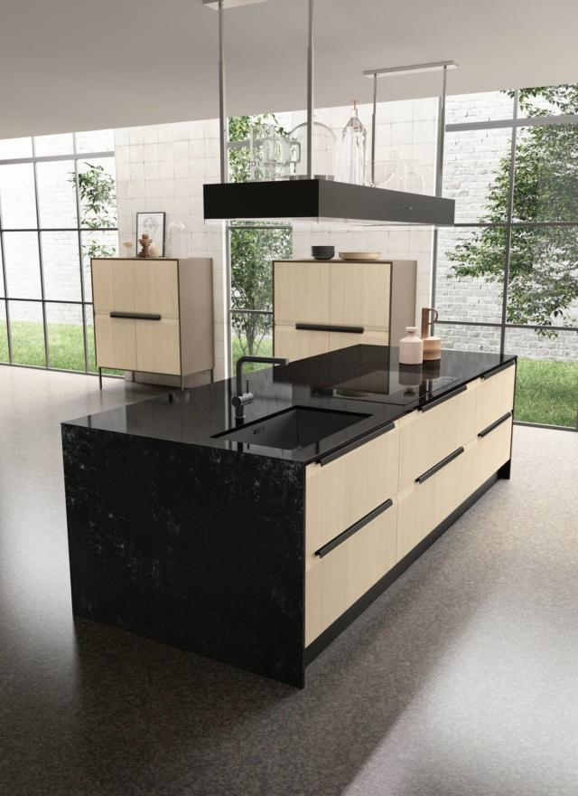 febal chantal01 cucina piano effetto marmo -okite