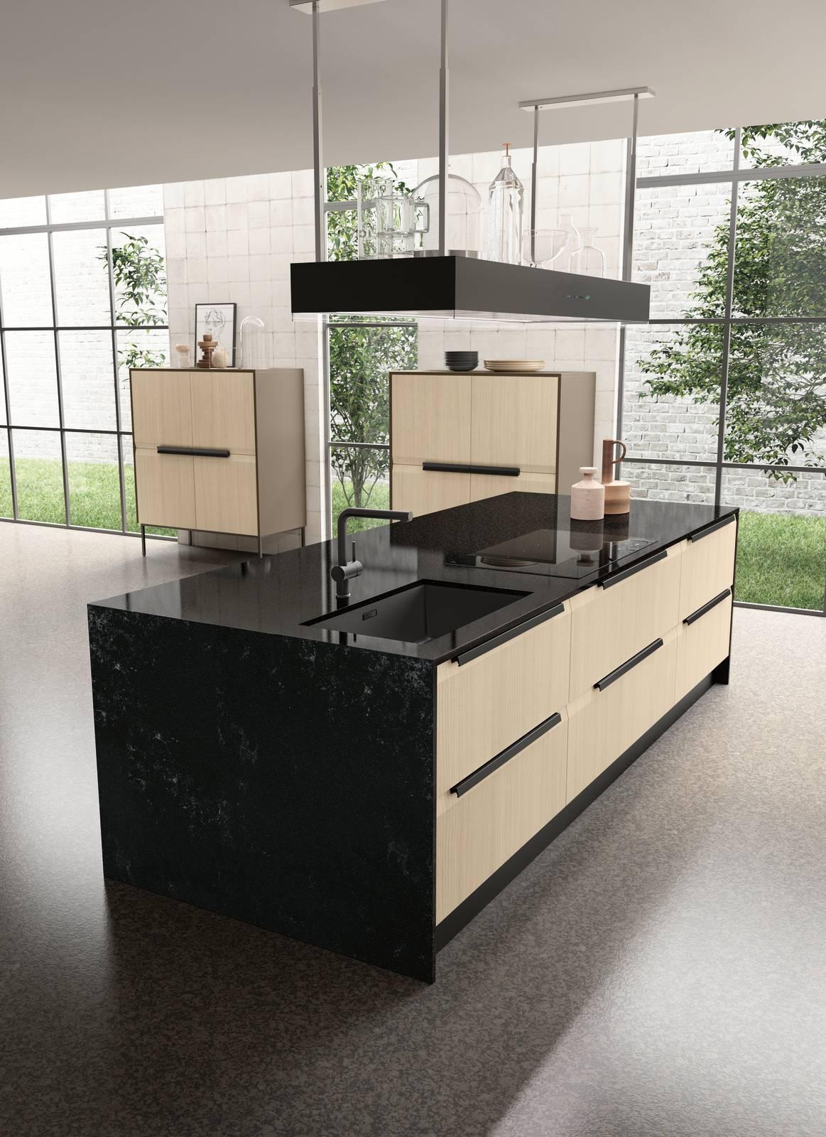 Effetto marmo o pietra per il piano cucina - Cose di Casa