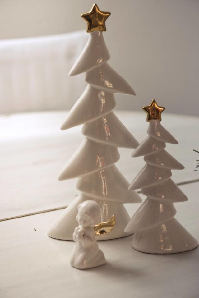 Albero di Natale piccolo Henriette Gold Xmas