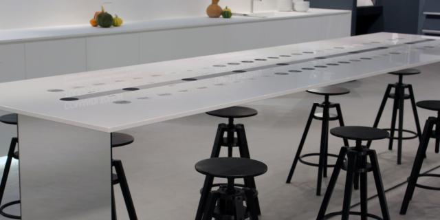 Un piano per la cucina con comandi totalmente touch