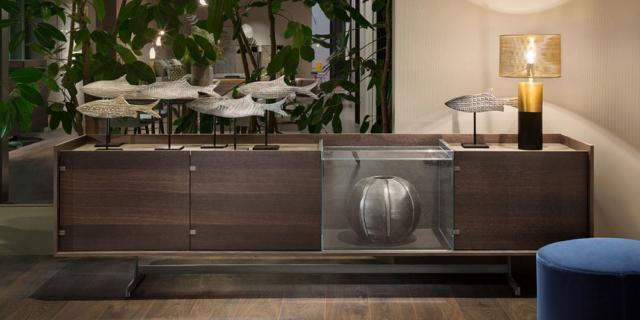 Nuove madie per il soggiorno, decorative anche nella semplicità delle linee