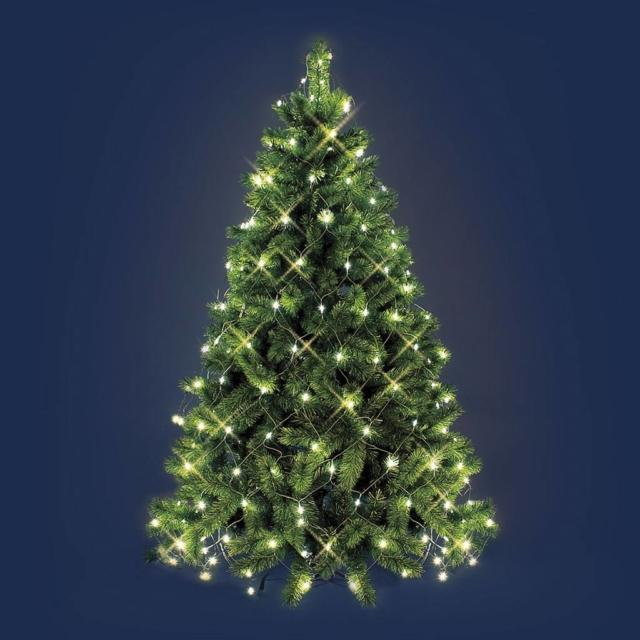 luci di Natale luminal park catena luminosa