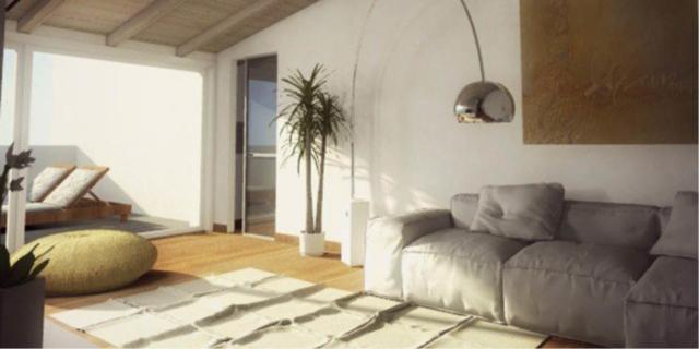 Mansarda: una casa sottotetto luminosa e contemporanea