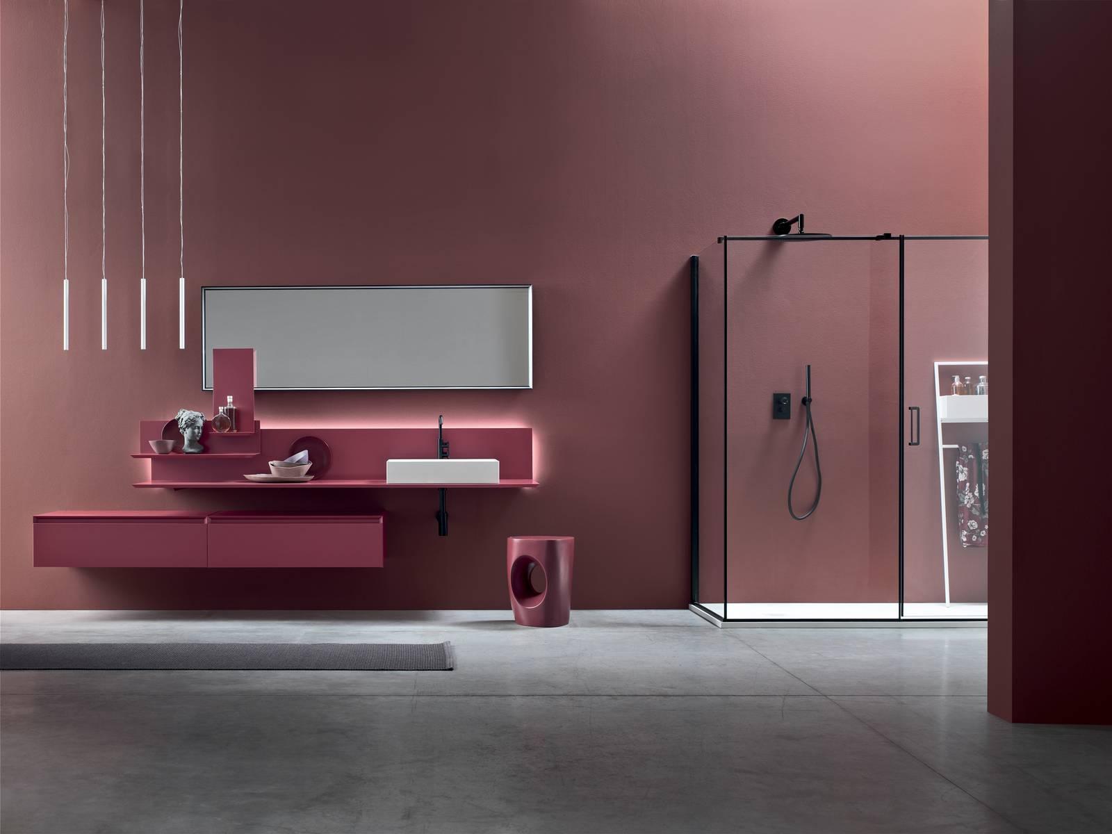 Mobili sospesi per il bagno moov il nuovo concetto di - Arcom mobili bagno ...
