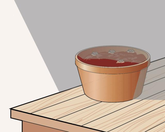 2. Poi occorre collocare il vaso in un luogo con una temperatura bassa e costante: la cantina, il garage o, se non si dispone di luogo fresco, anche un frigorifero dove però non siano presenti frutta o verdura che, producendo etilene, potrebbero danneggiare i bulbi. La temperatura ideale si aggira in questa fase tra i 2°C e gli 8.5°C.