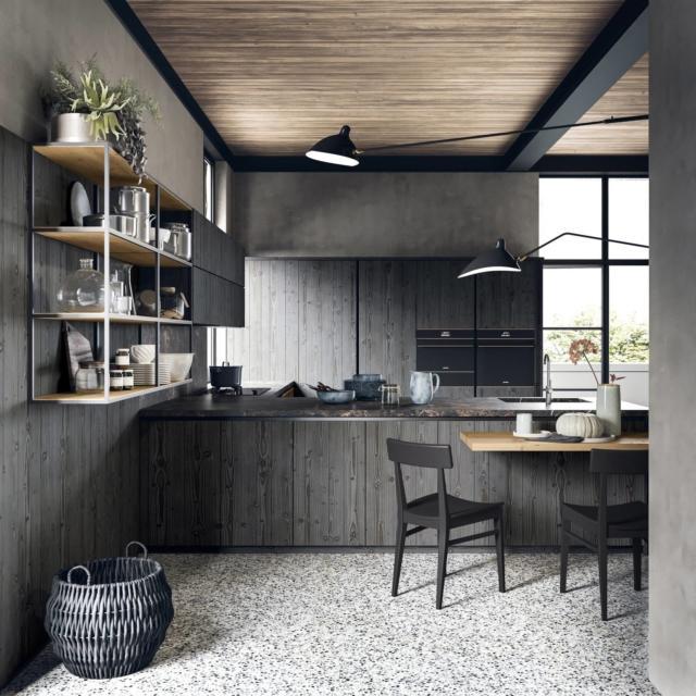 scandola_cam01 cucina con piano effetto marmo-laminato