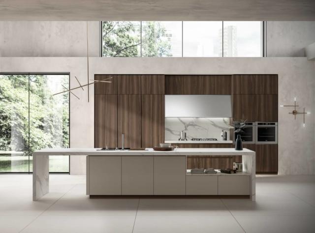 scavolini cucina su misura Material Selection IV Liberamente