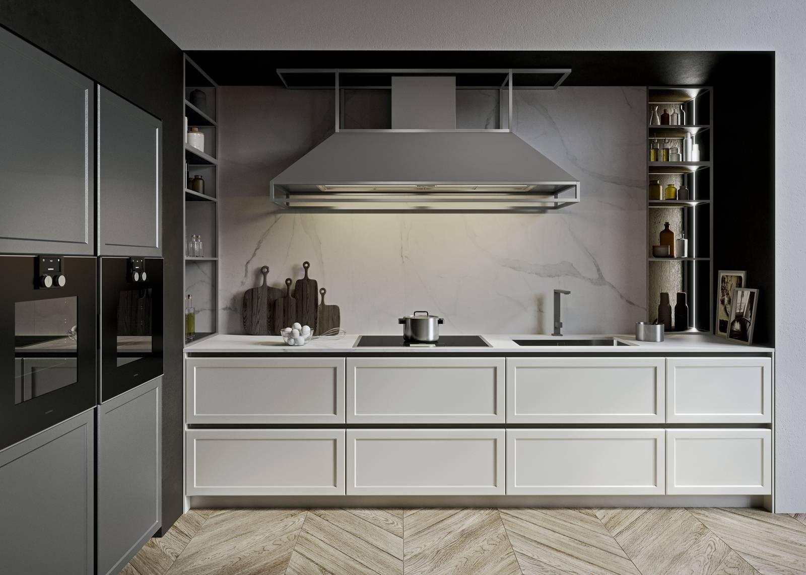 Cucina Con Piano In Marmo Di Carrara.Cucine Con Piano In Marmo O Pietra Un Classico Piu Attuale