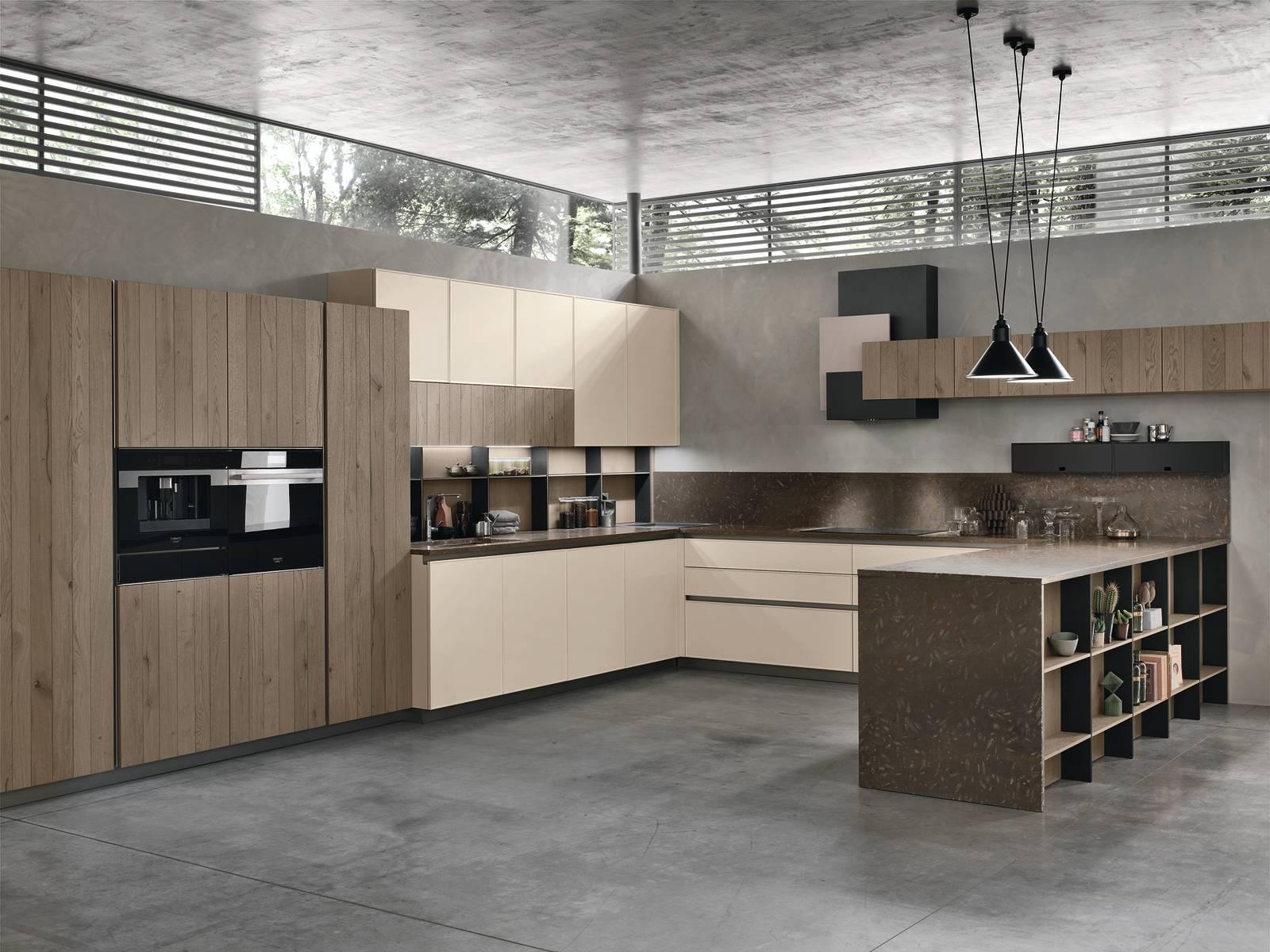 Cucina Bianca E Nera cucina bianca gola nera - the interior design