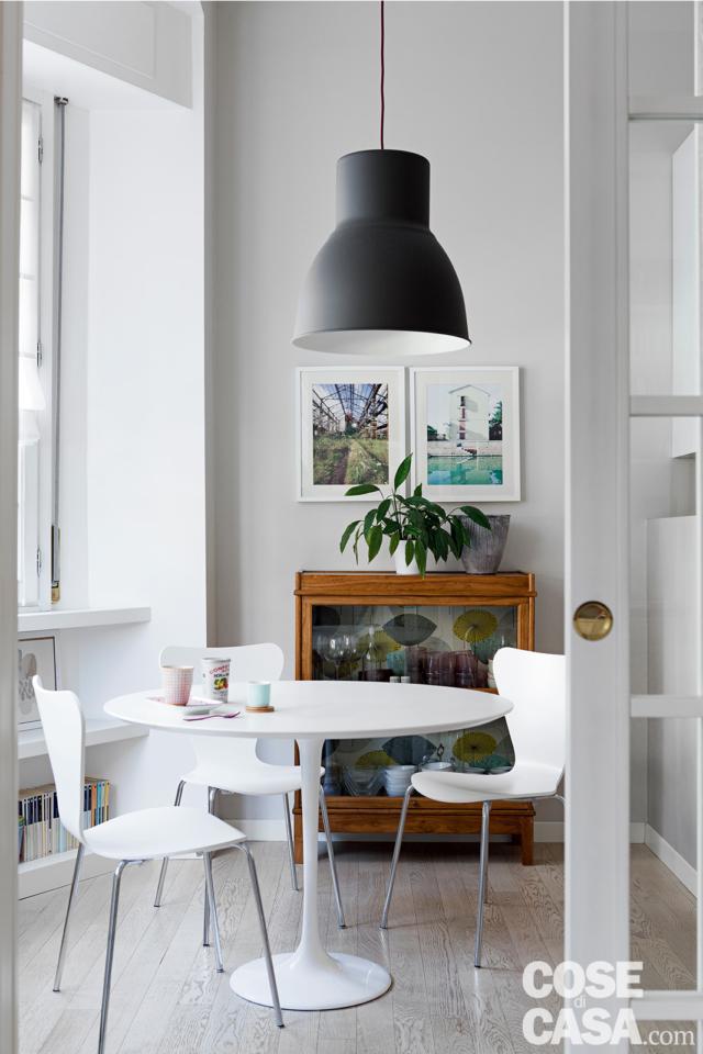 tavolo-da-pranzo casa in stile nordico