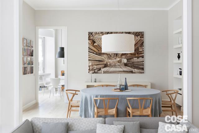 tavolo-divano  casa in stile nordico