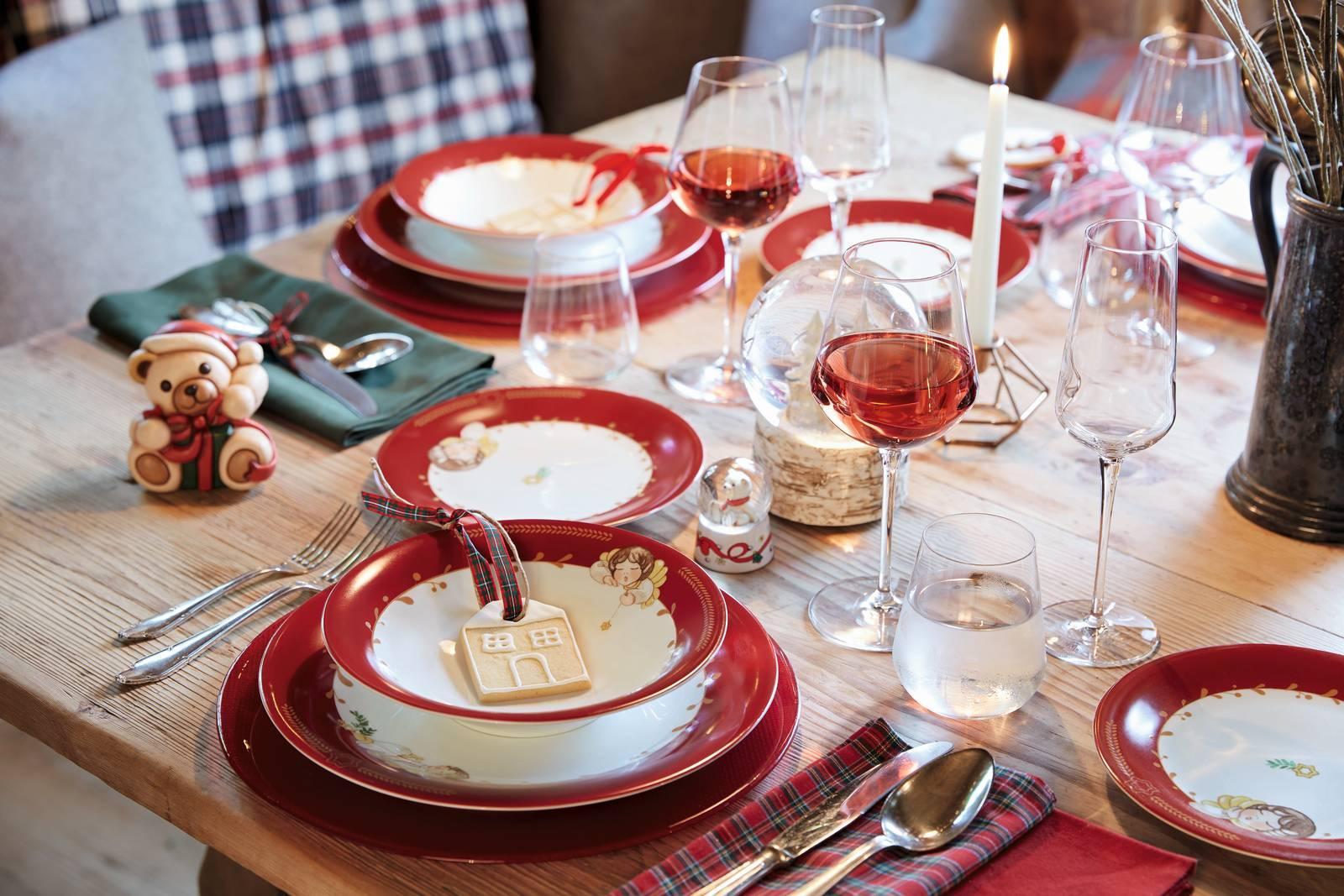 Apparecchiare Tavola In Terrazza tavola di natale: 15 soluzioni cui ispirarsi per le feste a