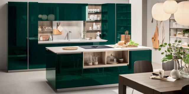 cucina verde venetacucine Lounge VerdeAlpi