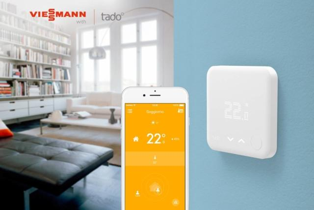 termostato viessmann-tado