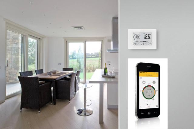 vimar-WiFi-cronotermostato con app