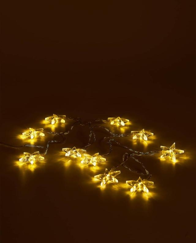 luci di Natale zara home catena luminosa
