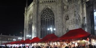 mercatino di Natale Piazza Duomo a Milano Terzo Avvento