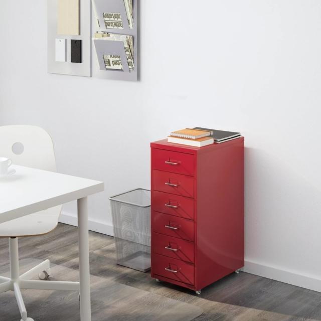 Cassettiere con rotelle mini capienti e colorate cose di casa - Mini cassettiera ikea ...