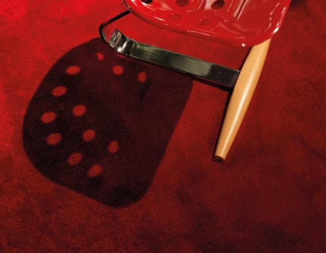 tappeto GTDESIGN Kama original - rosso vivo