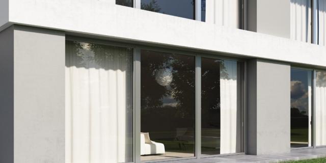 porte finestre Oknoplast_Squareline con ALUover_esterno