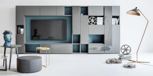 Mobile soggiorno, a parete o a centro stanza