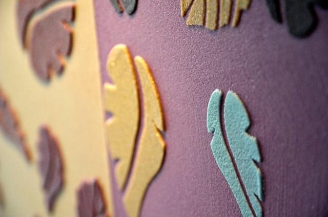 Le decorazioni a stencil Foglie StenDecor®di Litokol sono vendute in confezioni che contengono un bordo di formato 42 x 15 cme tre decori singoli,da 21 x 15 cm, spessi 0,20 mm.www.litokol.it