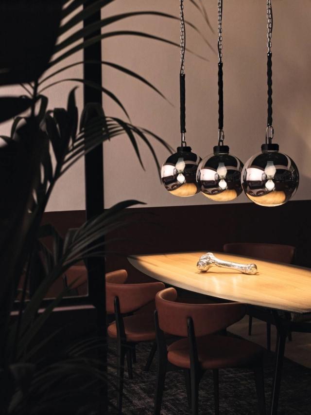 lampada a sospensione Wrecking Ball foscarini diesel