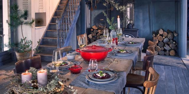 Atmosfere oro, rosso, bianco… : il design per Natale
