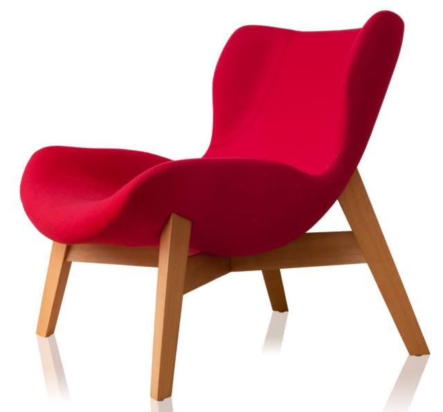 poltroncina design rossa sollos_lounge_chair_daff