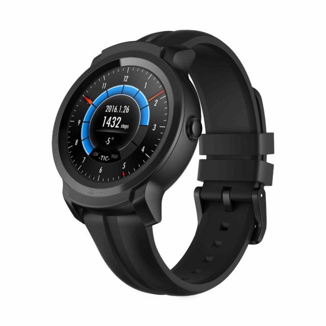 Mobvoi_TicWatch_E2_Smartwatch_Water_Resistant_Black novità CES 2019