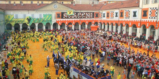 Lo Storico Carnevale di Ivrea