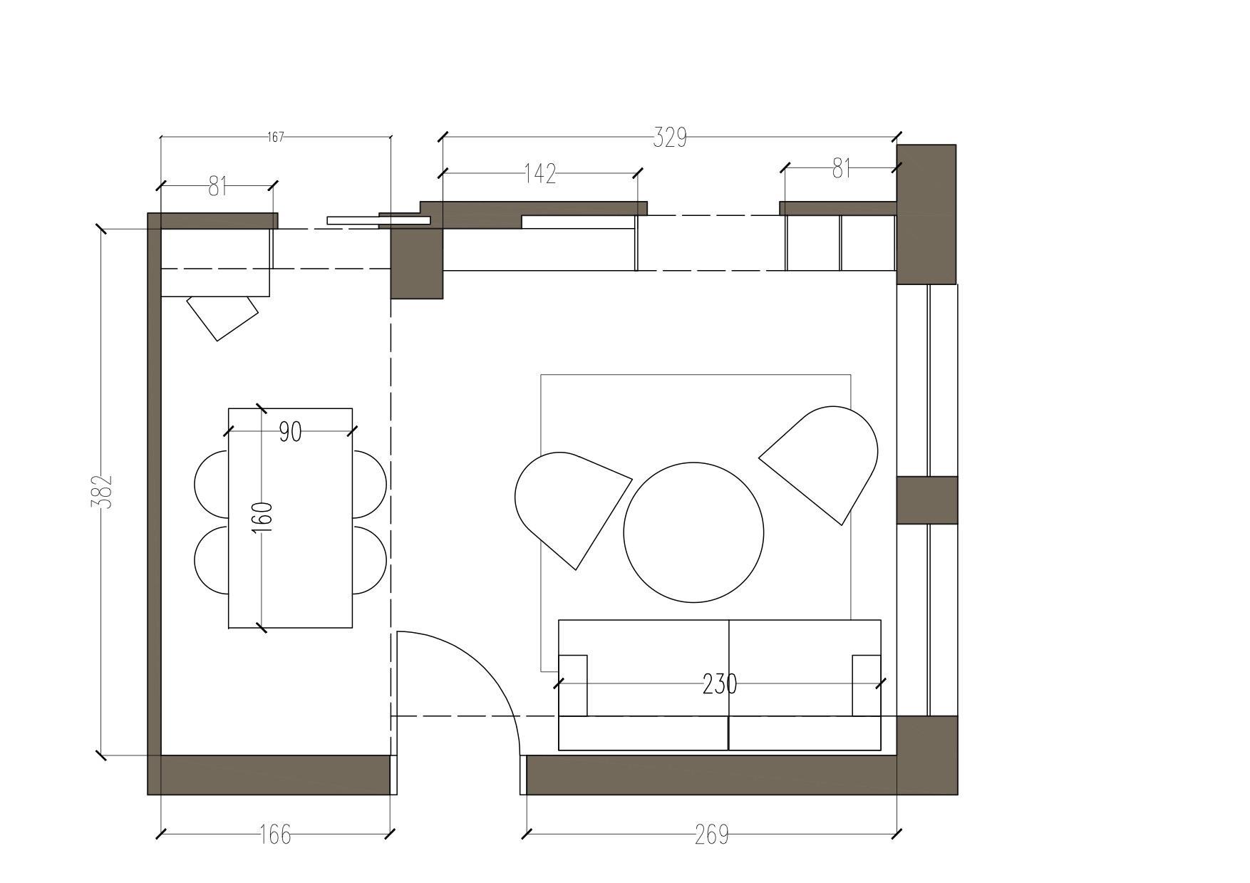 arredare un soggiorno difficile progetto in 3d cose