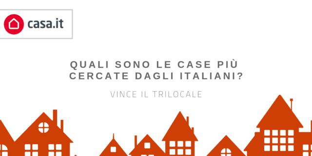 Ricerca di Casa.it: il trilocale la casa più cercata dagli italiani