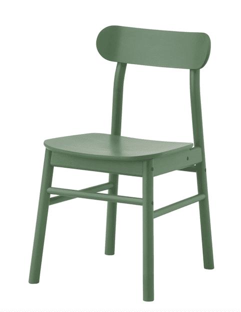 Ikea RÖNNINGE sedia verde