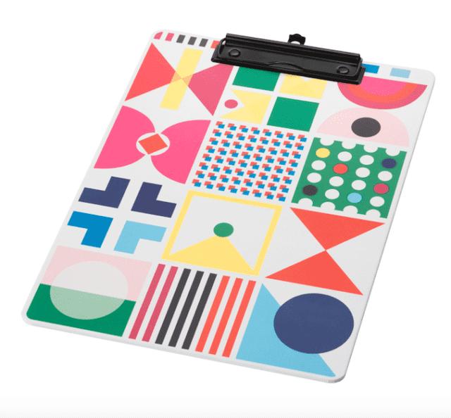 Ikea KNALLGUL blocco per appunti colorato