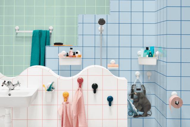 Ikea TISKEN Accessori Bagno Colorati