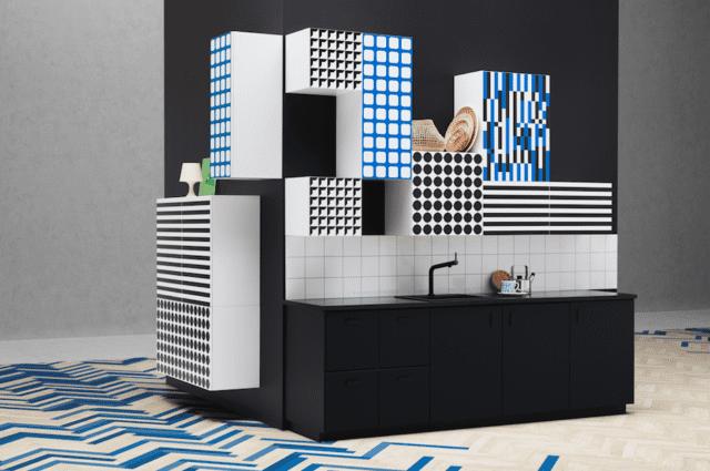 Ikea YTTERBYN Serie ante cucina colorate