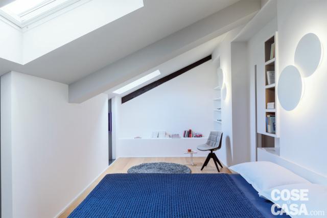 casa su due livelli con zona notte in mansarda