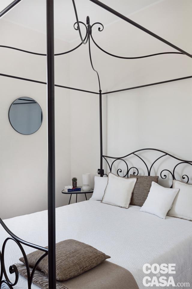 camera da letto nella casa di 70 mq da bi a trilocale