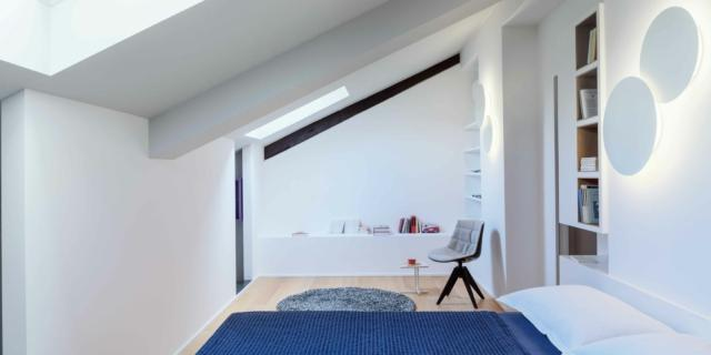 Casa su due livelli: in 130 mq tutto il fascino del sottotetto