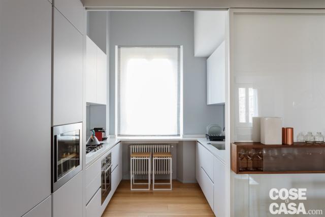 casa su due livelli cucina