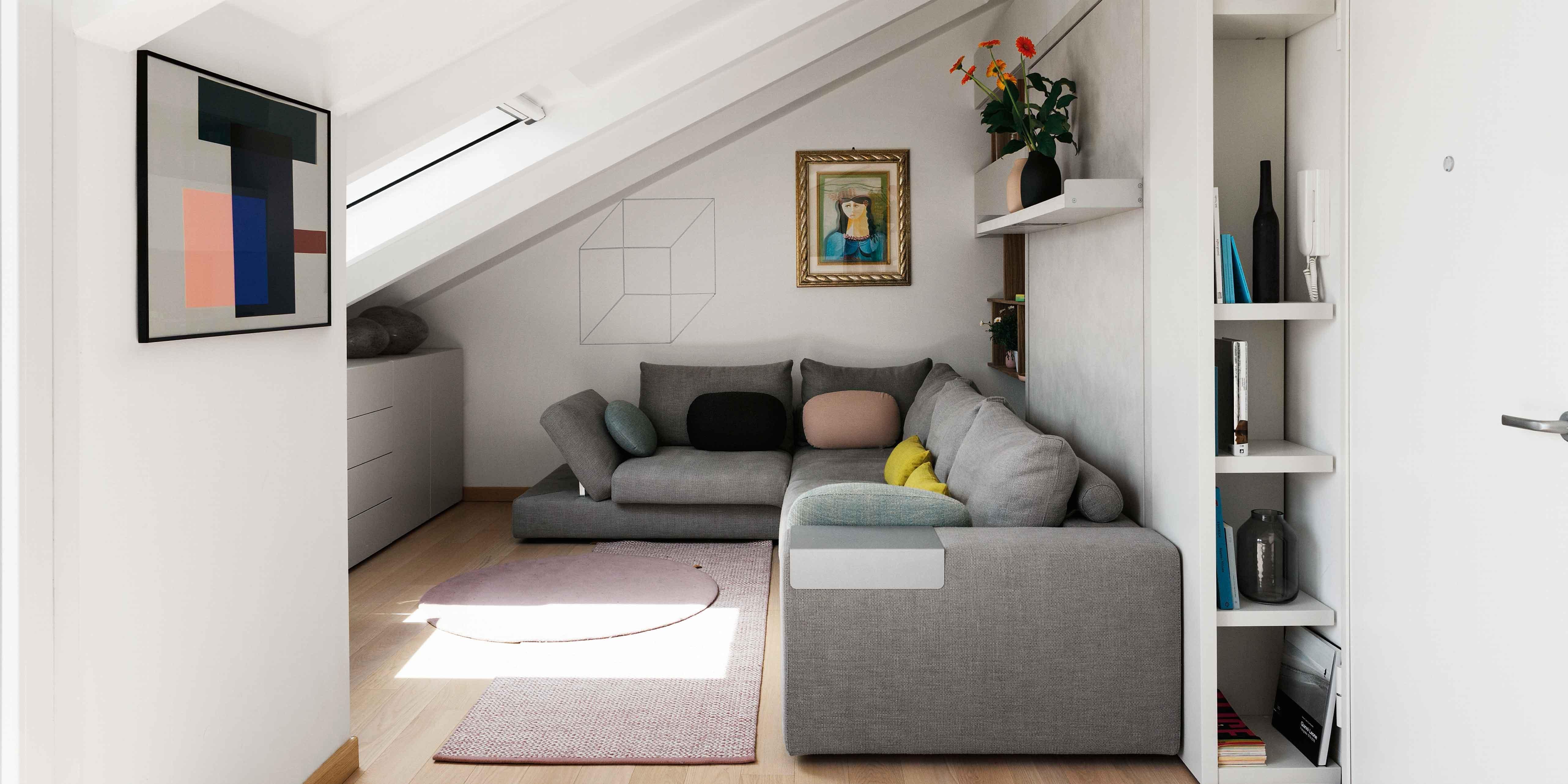 Da Luce Alla Soffitta sottotetto ristrutturato: 53 mq a nuovo nella tipica casa