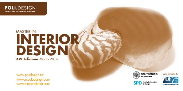 MID Master Interior Design cartolina 2019