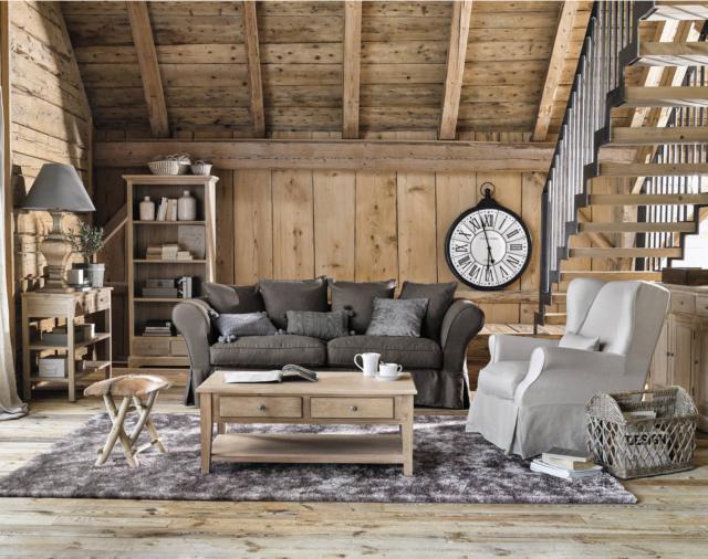 maisons du monde cavaillon salotto casa stile country