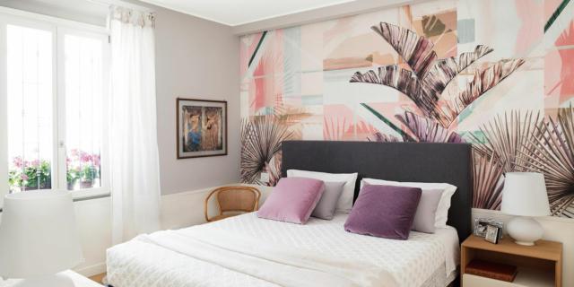 Parete dietro al letto: 4 soluzioni per rinnovarla