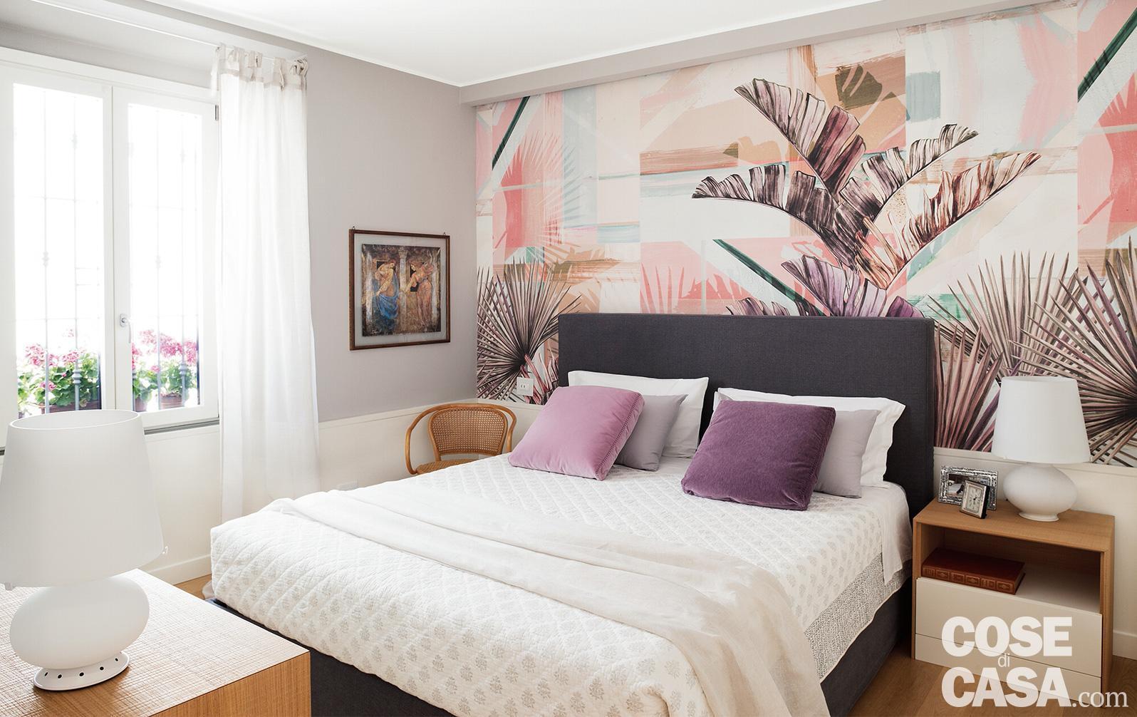 Parete Dietro Letto Idee parete dietro al letto: 4 soluzioni per rinnovarla - cose di