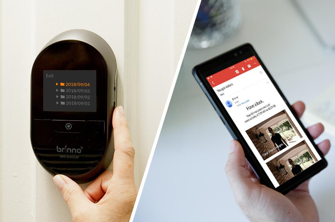 Spioncino digitale uno strumento in pi per difendersi da for Spioncino brinno